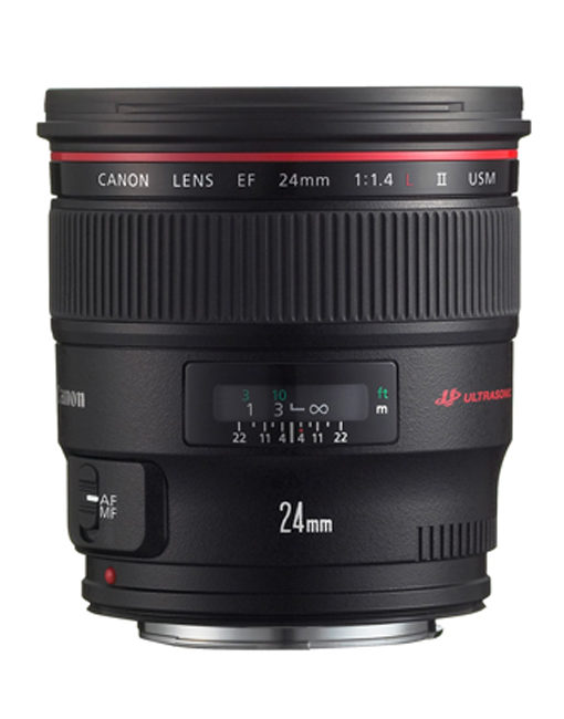 Canon 24mm 1.4 lens