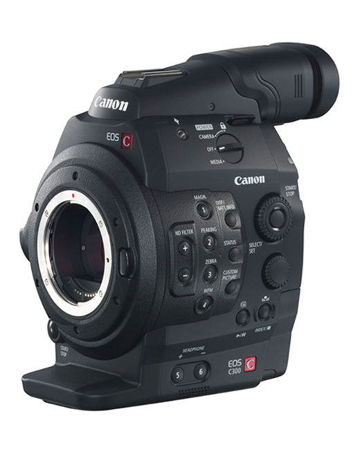 Canon EOS C300 EF Mount Kit