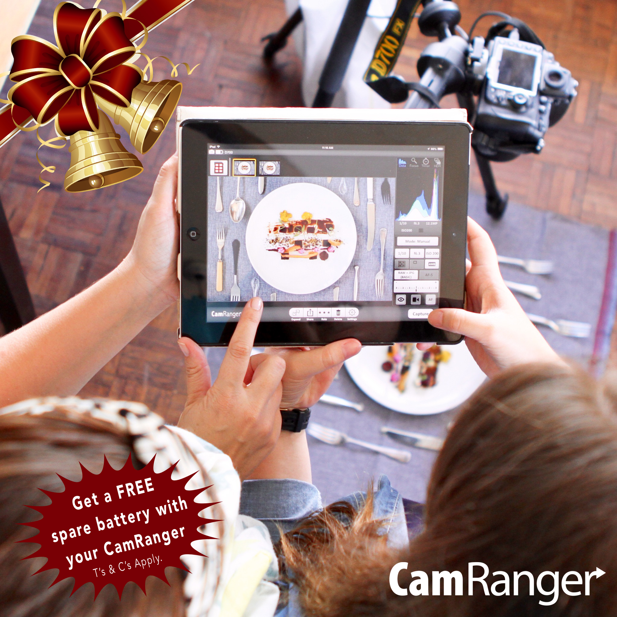 CamRanger December Promotion Details.