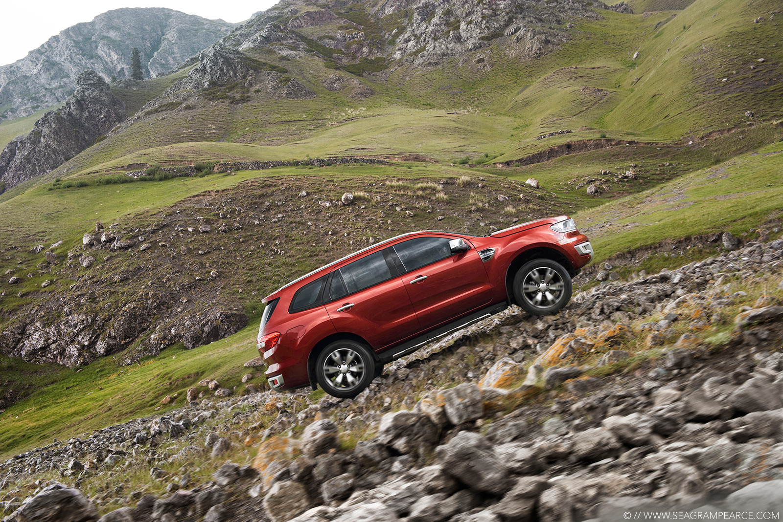 Ford | Everest Hill Climing | Seagram Pearce Photography
