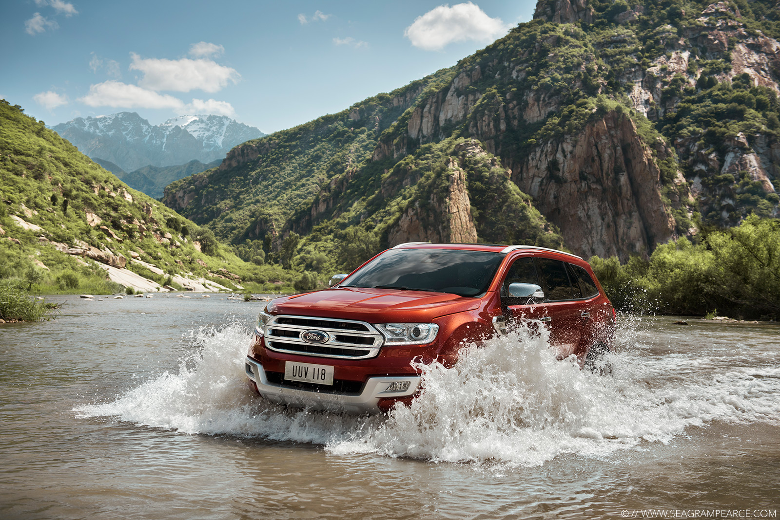 Ford | Everest Water Wading | Seagram Pearce Photography