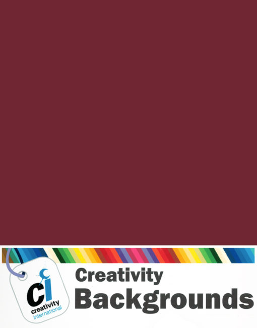 Creativity Background Paper - Crimson 27*