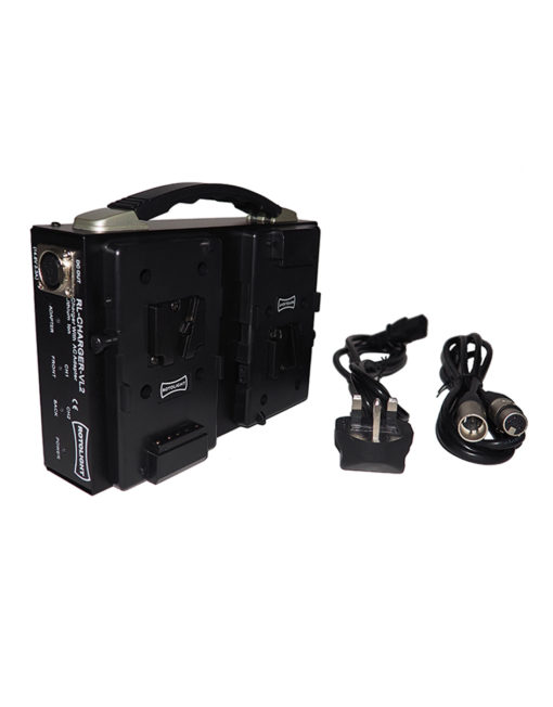 Rotolight DUAL CHANNEL V-LOCK BATTERY CHARGER