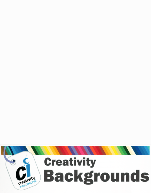 Creativity Background Paper - Arctic White 93