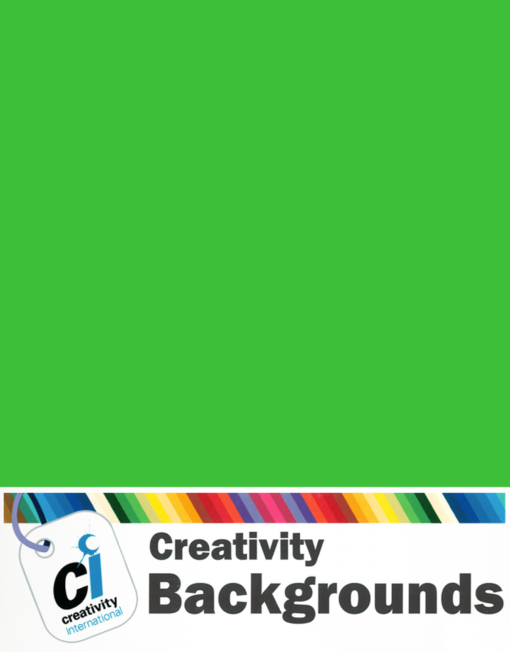 Creativity Background Paper - Chromagreen 54