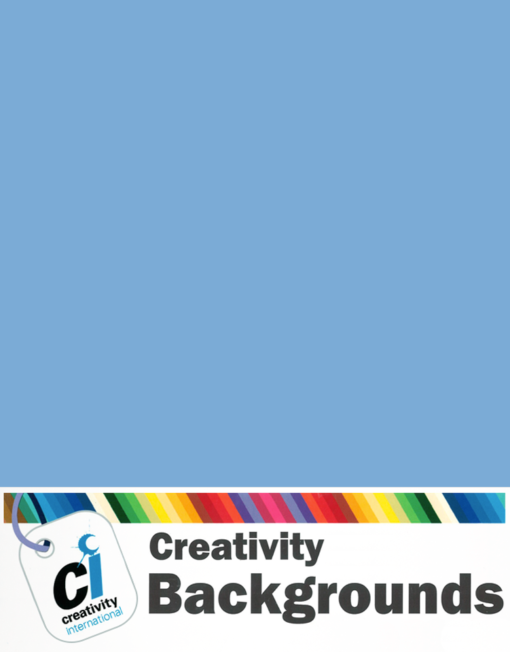 Creativity Background Paper - Sky Blue 60
