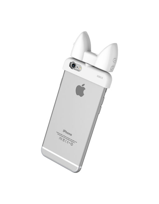 SIRUI Mobile Products Compensation Lamp on iPhone Back