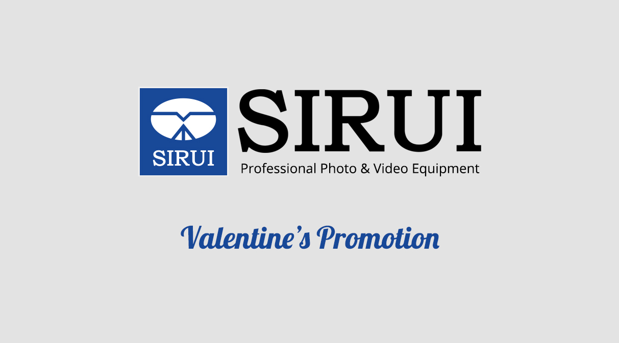 SIRUI Valentines Promotion Banner